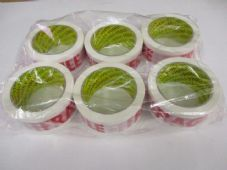6 x 48 x 66 PRINTED FRAGILE CARTON TAPE. vat inclusive price